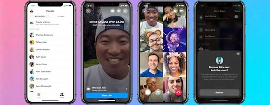 Facebook tung ra tính năng gọi video Messenger Rooms miễn phí cho cuộc họp 50 người