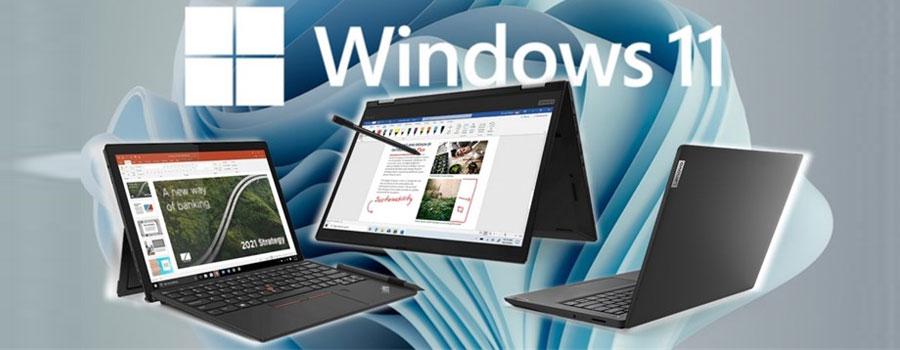 Lenovo sẽ ra mắt bộ 5 máy tính xách tay mới đều được cài sẵn Windows 11 vào cuối tháng 9