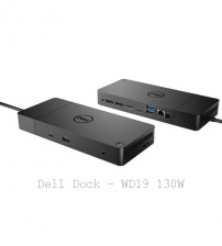 Dell Docking Station WD19 with Adapter 130w