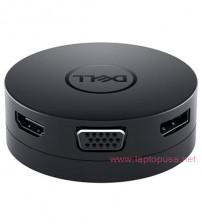 Bộ chuyển đổi Dell DA300 - USB-C Mobile Adapter to HDMI/VGA/DP/Ethernet/USB-C/USB-A